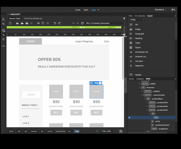 adobe dreamweaver review  pricing  features  u0026 alternatives