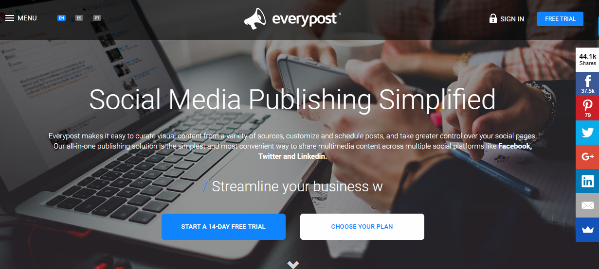 Everypost Review, Pricing, Features & Alternatives- 2018: OMT