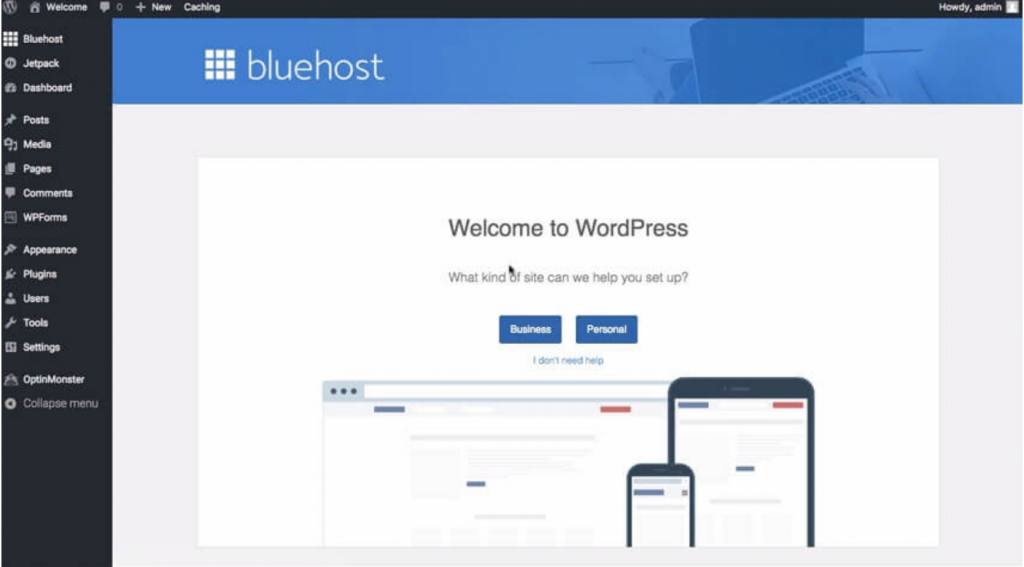 Bluehost WordPress