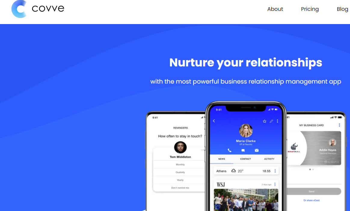 Covve Scan: Digitize Networking with AI Powered Assistance